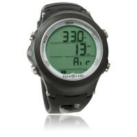 Aqualung i200 Tauchcomputer  - Uhrenformat - Nitrox u. Pressluft - schwarz