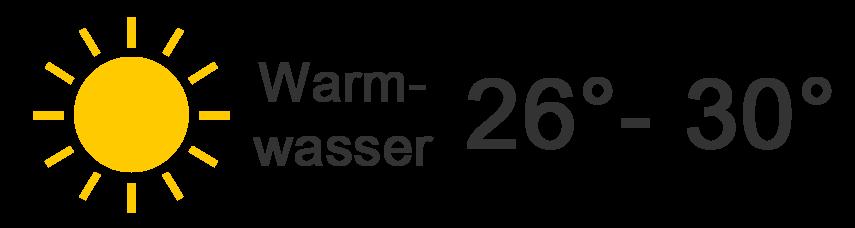 26 - 30 Grad
