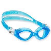 Cressi King Crab Schwimmbrille für Kinder - 7 bis 15 Jahre, blau