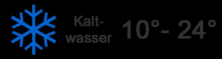 Kaltwasser < 16 Grad