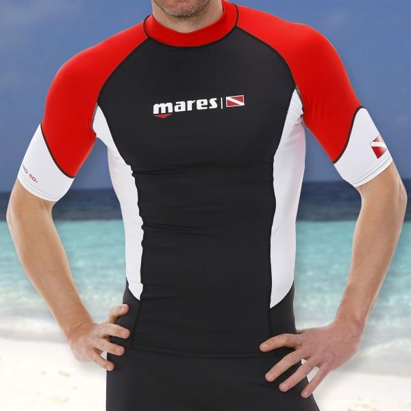 Mares DC Rash Guard Shirt kurzam für Herren - UPF50+