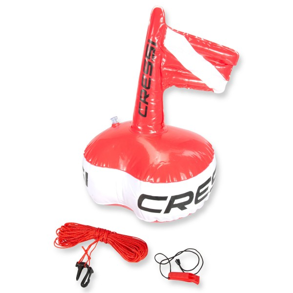 Cressi Taucherboje Easy Buoy - mit 20 m Seil