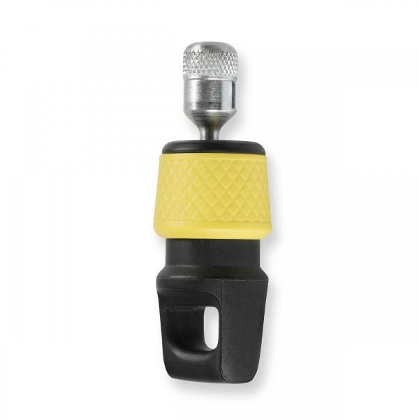 Mares Magnet Schlauchhalter - gelb