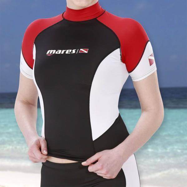 Mares DC Rash Guard Shirt kurzam für Damen - UPF50+