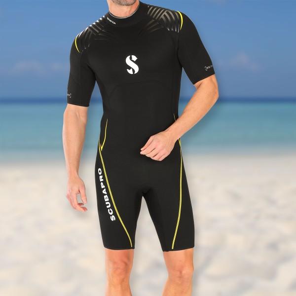 Scubapro Wassersportshorty Definition Herren - 2,5 mm mit Rückenreißverschluss