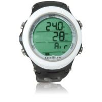 Aqualung i200 Tauchcomputer  - Uhrenformat - Nitrox u. Pressluft - weiß