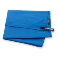 Cressi Mircofaser Handtuch 60 x 120 cm, blau - schnell trocknend