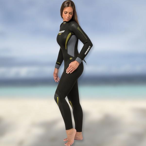 Los Angeles großer Rabatt heiß-verkaufende Mode Cressi Fast 5.0 Damen - Tauchanzug aus 5mm Neopren