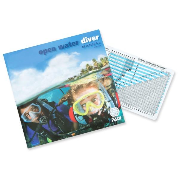 Padi Open-Water-Diver-Manual mit RDP (D)