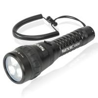 Seac R40 Tauchlampe - 2300 Lumen, Leuchtwinkel verstellbar
