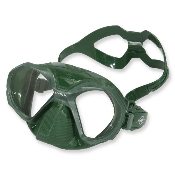 Beuchat Lynx Freitauchmaske - aus grünem Silikon